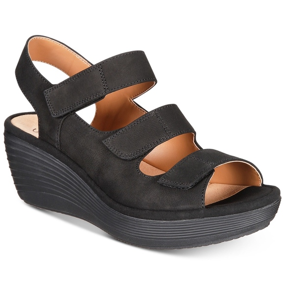 abec5922e Clarks Shoes - Clarks Reedly Juno collection wedges NWOT